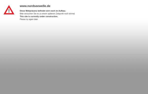 Vorschau von www.nordseewelle.de, Nordseewelle-Appartementvermittlung Renate Maassen