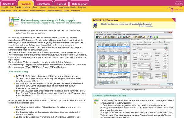 Vorschau von www.fewo24.info, Ferienwohnungsverwaltung