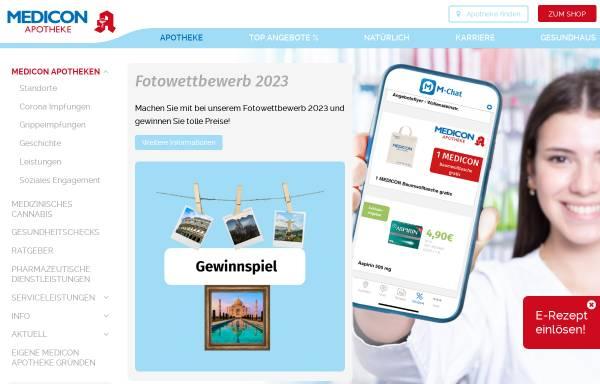 Vorschau von www.medicon-apotheke.de, Brl Holding GmbH