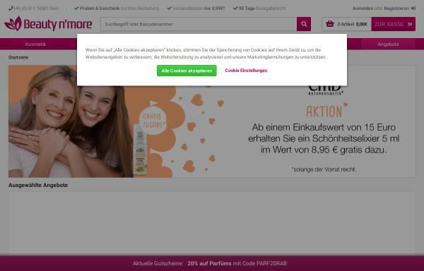 Vorschau von www.beautynmore.de, Steinke & Jähnigen GbR