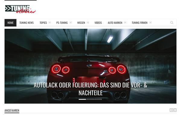Vorschau von www.tuning-stories.de, Tuningstories.de