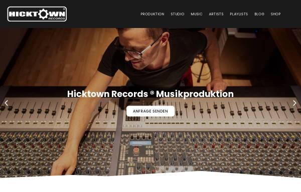 Vorschau von www.hicktown-records.de, Hicktown Records