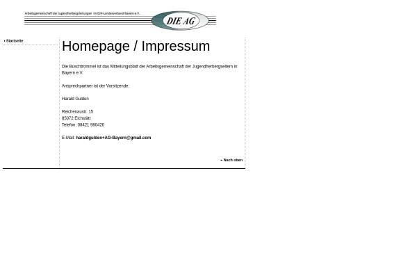 Vorschau von www.buschtrommel.com, Die Buschtrommel