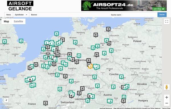 Vorschau von www.airsoft-gelaende.eu, Airsoft Gelände