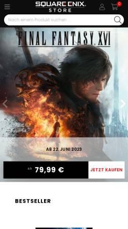Vorschau der mobilen Webseite www.frontmissionevolved.de, Front Mission Evolved