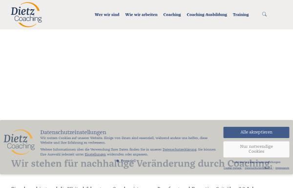 Vorschau von www.dietz-training.de, Dietz Training und Partner