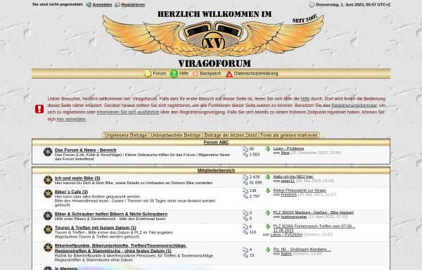 Vorschau von www.viragoforum.de, Viragoforum