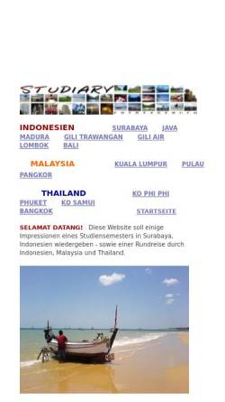 Vorschau der mobilen Webseite sites.google.com, Studiary [Daniel Burghardt]