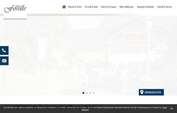 Vorschau von www.ferienpension-forelle.de, Pension Forelle