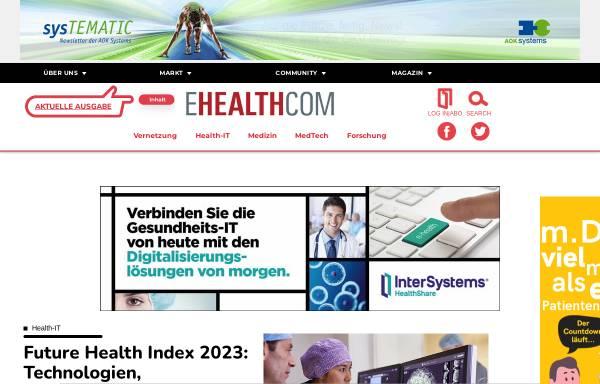 Vorschau von www.e-health-com.eu, E-Health-Care