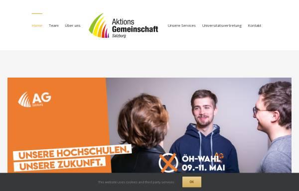 Vorschau von www.ag-sbg.at, Aktionsgemeinschaft Salzburg