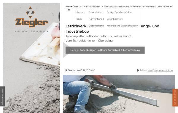 Fußboden König ~ Ziegler gmbh in eppertshausen: bodenbeläge fußboden wand und