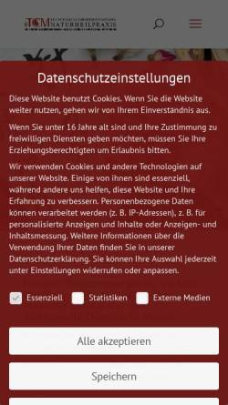 Vorschau der mobilen Webseite naturalwayservices.de, Natural Way Services