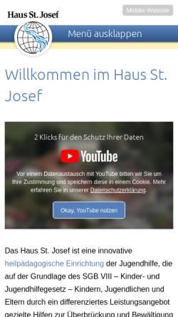 Vorschau der mobilen Webseite www.tierheim-lippstadt.de, Tierschutzverein Lippstadt und Umgebung e.V.
