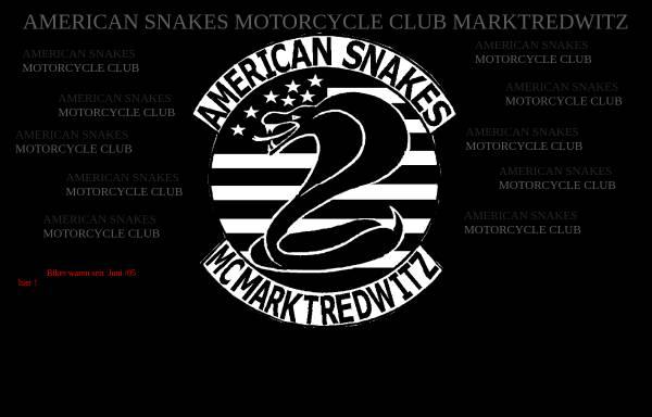 Vorschau von www.american-snakes-mc-marktredwitz.de, American Snakes MC Marktredwitz