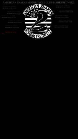 Vorschau der mobilen Webseite www.american-snakes-mc-marktredwitz.de, American Snakes MC Marktredwitz