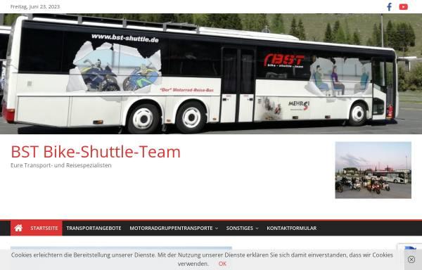 Vorschau von www.bike-shuttle-team.de, Bike Shuttle Team