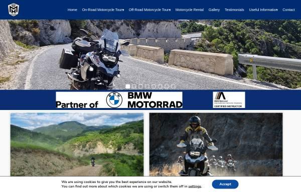 Vorschau von rideinromania.com, Motorradtouren in Rumänien - Famous Tours & Travel