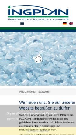 Vorschau der mobilen Webseite www.rcs-online.com, RCS Recycling Centrum Seevetal GmbH