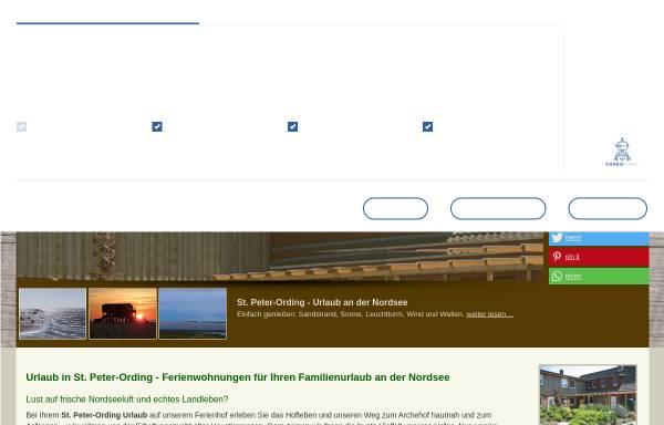 Vorschau von www.bauernhof-voss.de, Bauernhof Voß