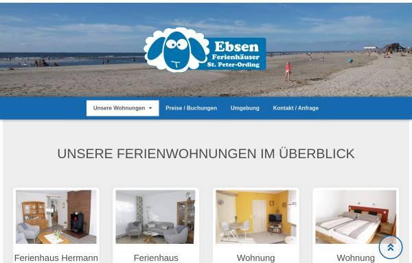 Vorschau von www.strandschaufel.de, Ferienhäuser Ebsen