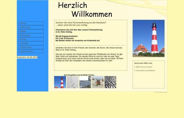 Vorschau von www.wv-spo.de, Ferienwohnungen Werner Vockenroth