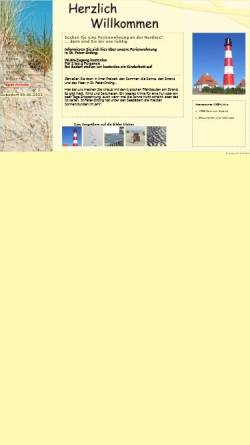 Vorschau der mobilen Webseite www.wv-spo.de, Ferienwohnungen Werner Vockenroth