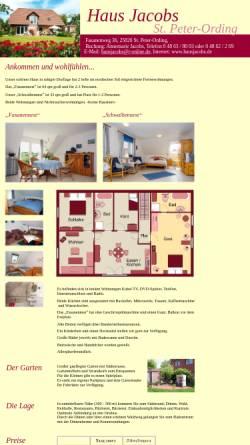 Vorschau der mobilen Webseite www.hausjacobs.de, Haus Jacobs