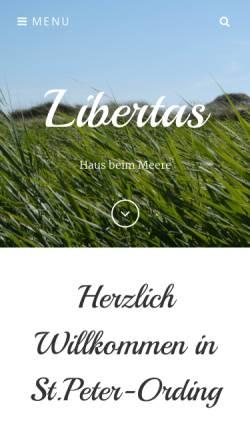 Vorschau der mobilen Webseite www.libertas-spo.de, Haus Libertas