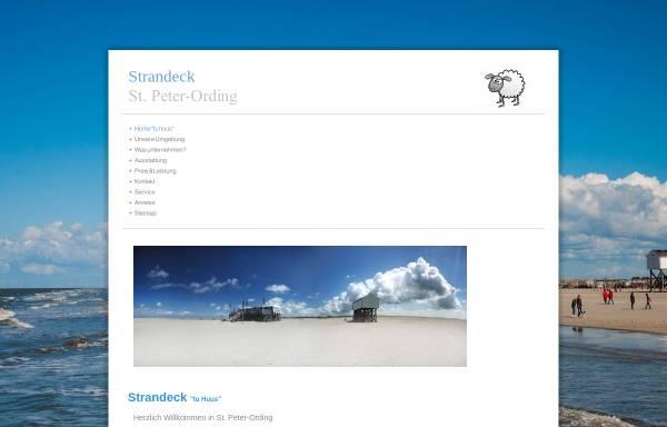 Vorschau von www.strandeck.com, Haus Strand-Eck