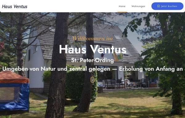 Vorschau von www.haus-ventus.de, Haus Ventus