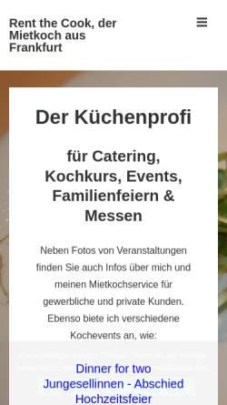 Vorschau der mobilen Webseite rent-the-cook.eu, Alf Ochs