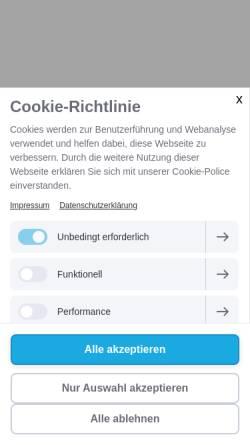 Vorschau der mobilen Webseite www.koelfhamm.com, Hotel & Restaurant Kölfhamm