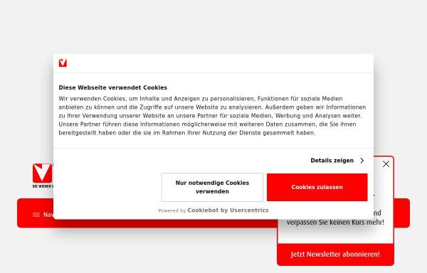 Vorschau von www.vhs.at, Volkshochschule Hietzing/Projekt