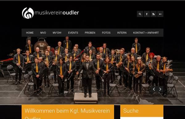 Vorschau von www.mvoudler.be, Musikverein Oudler