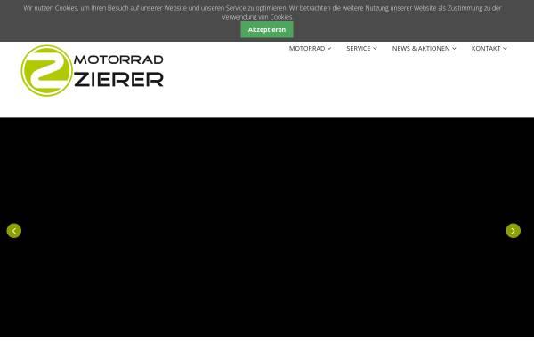 Vorschau von www.motorrad-zierer.de, Motorrad Zierer OHG