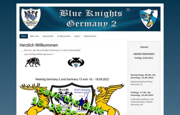 Vorschau von www.blueknights-germany2.de, Blue Knights Germany 2