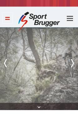 Vorschau der mobilen Webseite www.sport-brugger.at, Sport - Brugger GmbH