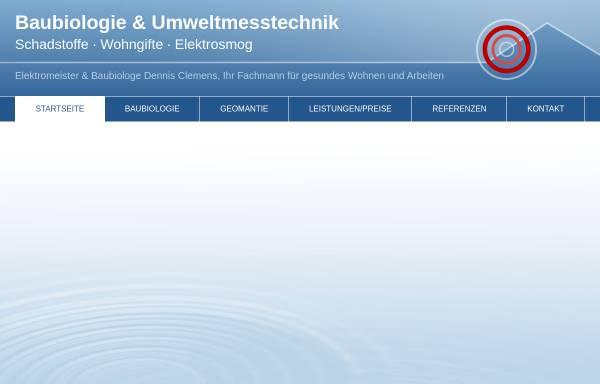 Vorschau von www.baubiologie-clemens.de, Dennis Clemens