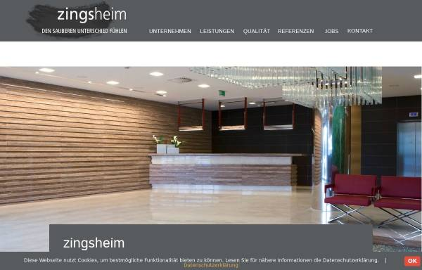 Vorschau von www.zingsheimgmbh.de, Zingsheim GmbH