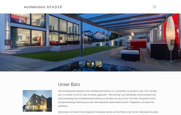 Vorschau von www.architektbender.de, Bender, Ralf