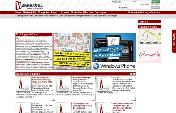 Vorschau von www.wawerko.de, Wawerko