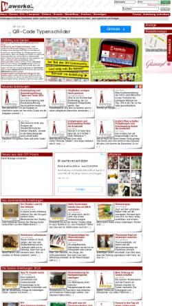 Vorschau der mobilen Webseite www.wawerko.de, Wawerko