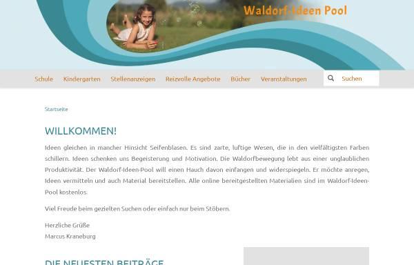Vorschau von www.waldorf-ideen-pool.de, Waldorf-Ideen-Pool