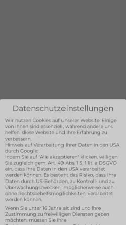 Vorschau der mobilen Webseite www.firmennest.de, Firmennest