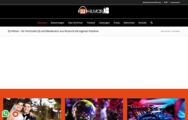 Vorschau von www.dj-hilmar.de, DJ Hilmar Hartwig