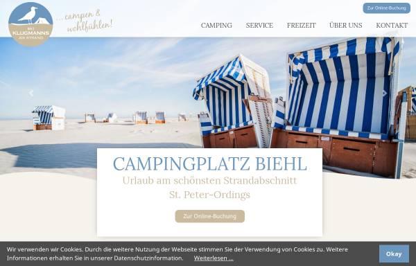 Vorschau von www.appartements-klugmann.de, Appartements Klugmann