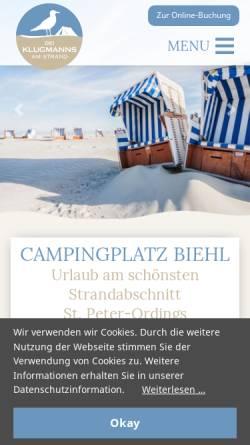 Vorschau der mobilen Webseite www.appartements-klugmann.de, Appartements Klugmann