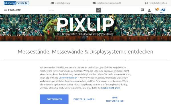 Vorschau von www.displayhersteller.de, Maxxi-Print Großbildlösungen GmbH