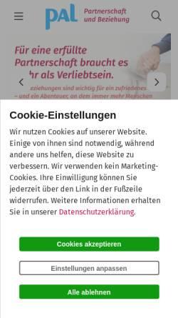 Vorschau der mobilen Webseite www.partnerschaft-beziehung.de, Dr. Doris Wolf